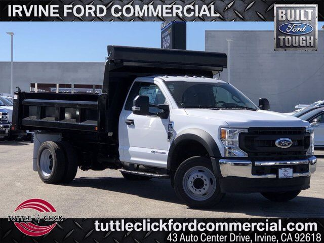 2020 Ford Super Duty F-550 DRW w/Marathon 12' Dump Bed XL Irvine CA