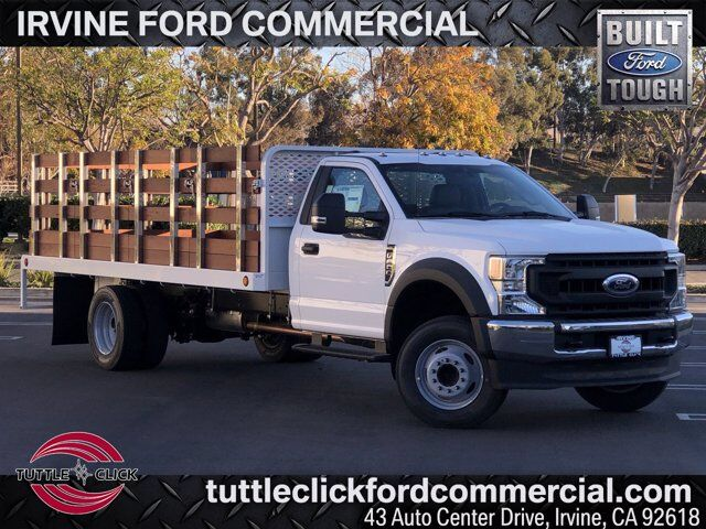 2020 Ford Super Duty F-600 DRW XL Scelzi 16' Stake Bed Gas Irvine CA