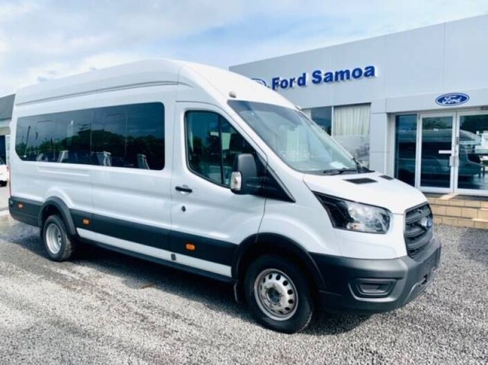 2020 Ford TRANSIT BUS 18 SEATER 2.2L TURBO DIESEL 2WD 6-SPEED MANUAL TRANSMISSION 2.2L DIESEL RWD 6MT Vaitele