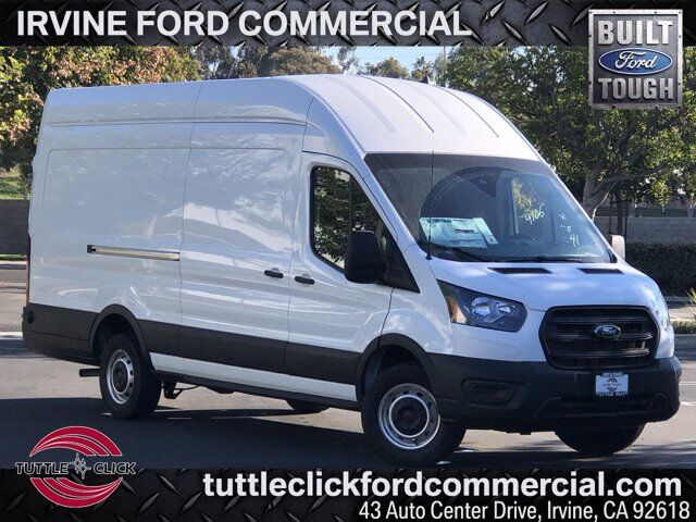 2020 Ford Transit-350 Cargo Van SRW XL CVI Partition & Shelving Ecoboost Gas Irvine CA
