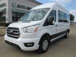 2020 Ford Transit 350 Wagon High Roof XLT w/Sliding Pass. 148-in. WB  BACKUP CAM, BLUTOOTH