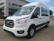 2020_Ford_Transit_350 Wagon High Roof XLT w/Sliding Pass. 148-in. WB  BACKUP CAM, BLUTOOTH_ Plano TX