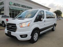 2020_Ford_Transit_350 Wagon Low Roof XLT w/Sliding Pass. 148-in. WB BACKUP CAM, BLUTOOTH_ Plano TX