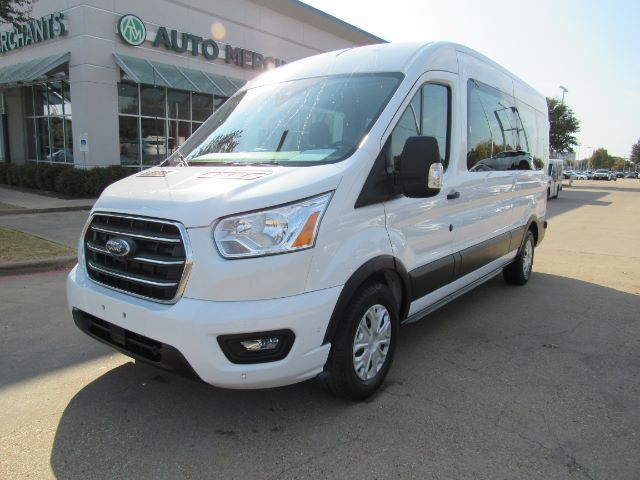 2020 Ford Transit 350 Wagon Med. Roof XLT w/Sliding Pass. 148-in. WB BACKUP CAM, BLUTOOTH Plano TX