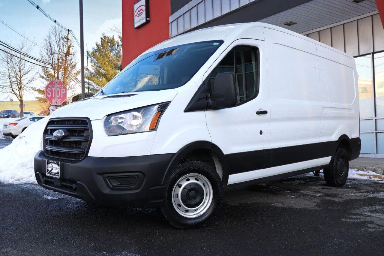 2020 Ford Transit Cargo Van Medium Roof 148 Cargo Backup Camera 1 Owner Springfield NJ