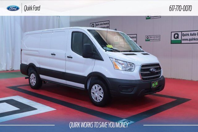 2020 Ford Transit Cargo Van W/ Partition, wing kit and 3 bar ladder rack Quincy MA