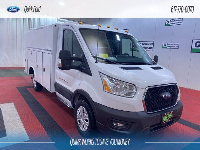 2020 Ford Transit Chassis Reading Aluminum  Service Body Quincy MA