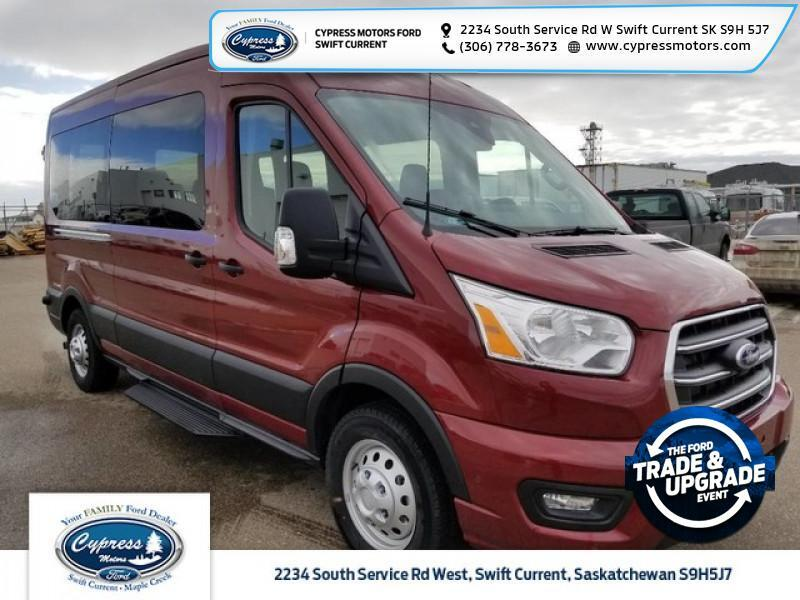 2020 Ford Transit Passenger Wagon XLT  - Heated Seats - $495 B/W Swift Current SK
