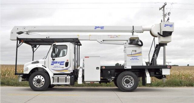 2020 Freightliner M2 106 Dur-A-Lift DTA3-70 aerial lift with 75' working height Homestead FL