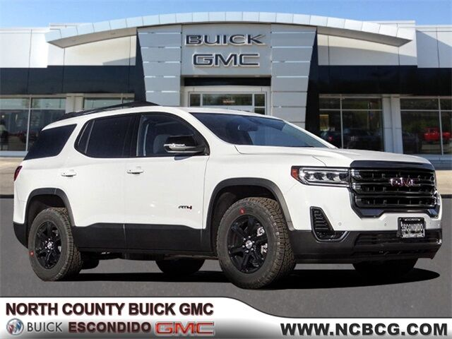 2020 GMC Acadia AT4 San Diego County CA