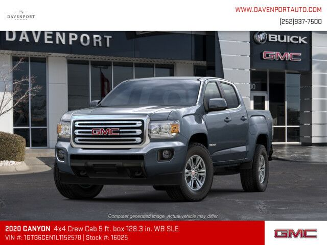 2020 GMC Canyon 4WD Crew Cab 128