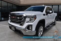 2020_GMC_Sierra 1500_SLT / 4X4 / X31 Off RD / Turbo Diesel / Auto Start / Heated & Cooled Seats / Heated Steering Wheel / Bose / Sunroof / Navigation / Lane Departure & Blind Spot / Tonneau Cover / Bed Liner / Tow Pkg / 1-Owner_ Anchorage AK