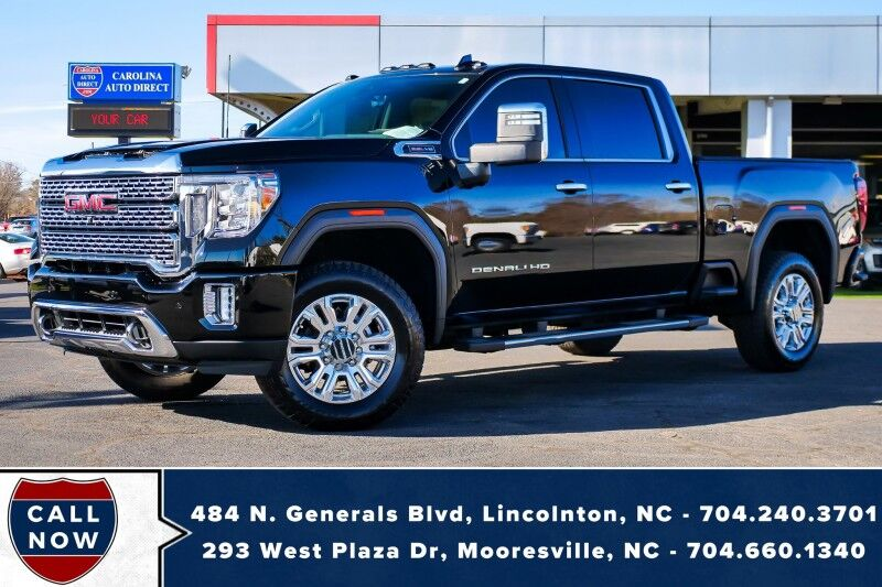 2020 GMC Sierra 2500HD Denali 4X4 *6.6L V8* w/ Head-Up Display & Power Tailgate Step Mooresville NC