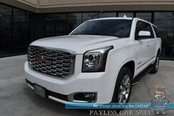 2020_GMC_Yukon XL_Denali / 4X4 / Auto Start / Heated & Cooled Leather Seats / Heated Steering Wheel / Navigation / Sunroof / Bose Speakers / Bluetooth / Back Up Camera / Rear Captain Chairs / 3rd Row / Seats 7 / Tow Pkg_ Anchorage AK