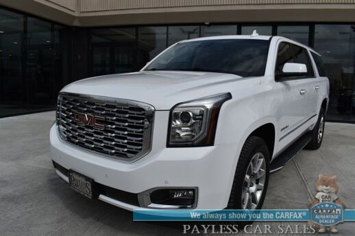 2020 GMC Yukon XL Denali / 4X4 / Auto Start / Heated & Cooled Leather Seats / Heated Steering Wheel / Navigation / Sunroof / Bose Speakers / Bluetooth / Back Up Camera / Rear Captain Chairs / 3rd Row / Seats 7 / Tow Pkg Anchorage AK