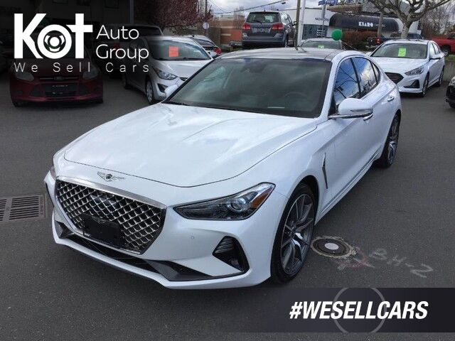 2020 Genesis G70 2.0T Prestige No Accidents, 5-Year Maintenance Included! Victoria BC