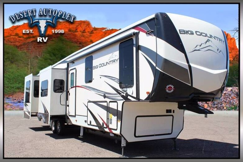 2020 Heartland Big Country 3806RKD Quad Slide Fifth Wheel RV Mesa AZ