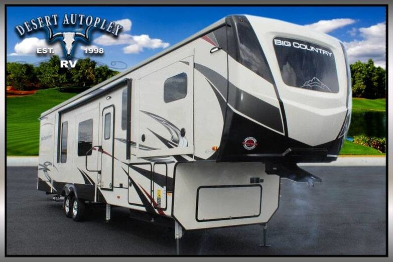 2020 Heartland Big Country 3895FK 5 Slide 5th Wheel RV Treated w/Cilajet Anti-Microbial Fog Mesa AZ
