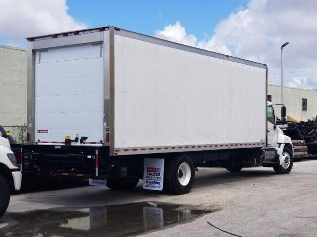 2020 Hino 268A 26' Refrigerated Van Homestead FL