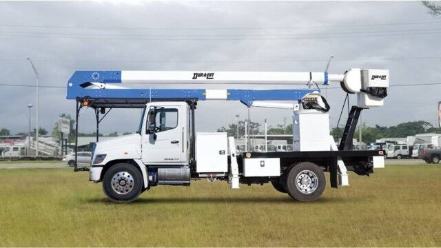 2020 Hino 268A Dur-A-Lift DTA3-60 Forestry Bucket Truck Homestead FL