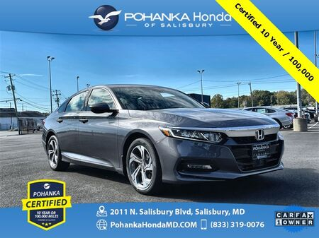 2020_Honda_Accord_EX-L ** Pohanka Certified 10 Year / 100,000 **_ Salisbury MD
