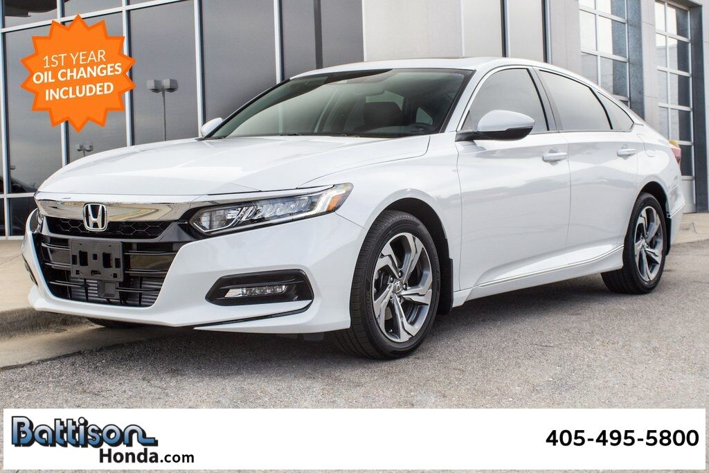2020_Honda_Accord_EX-L_ Oklahoma City OK