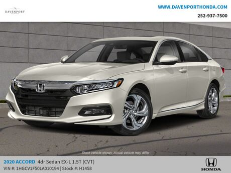 2020 Honda Accord Sedan EX-L 1.5T Rocky Mount NC