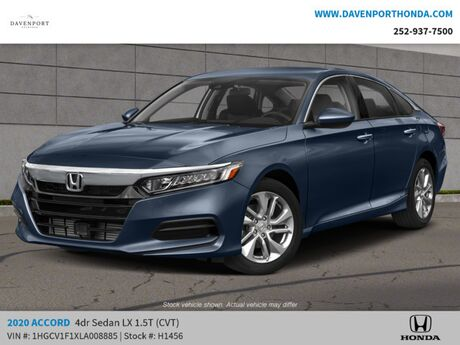 2020 Honda Accord Sedan LX 1.5T CVT Rocky Mount NC