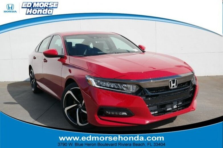 2020 Honda Accord Sedan Sport 1.5T CVT Riviera Beach FL