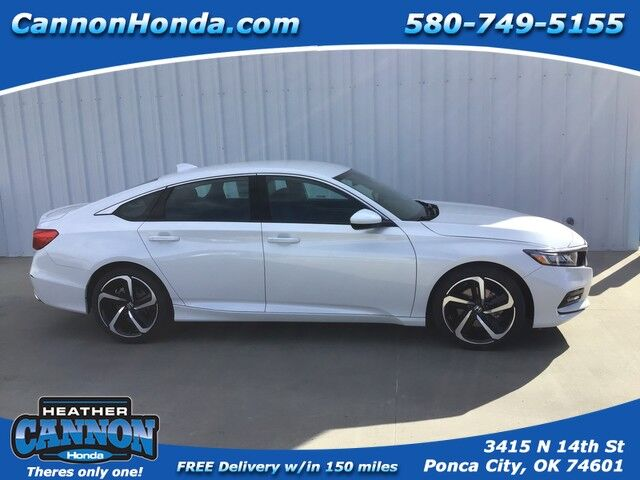 2020 Honda Accord Sedan Sport 1.5T Ponca City OK