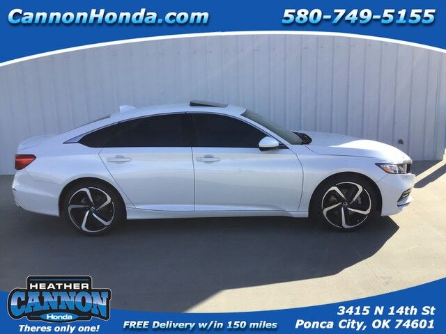 2020 Honda Accord Sedan Sport 2.0T Ponca City OK