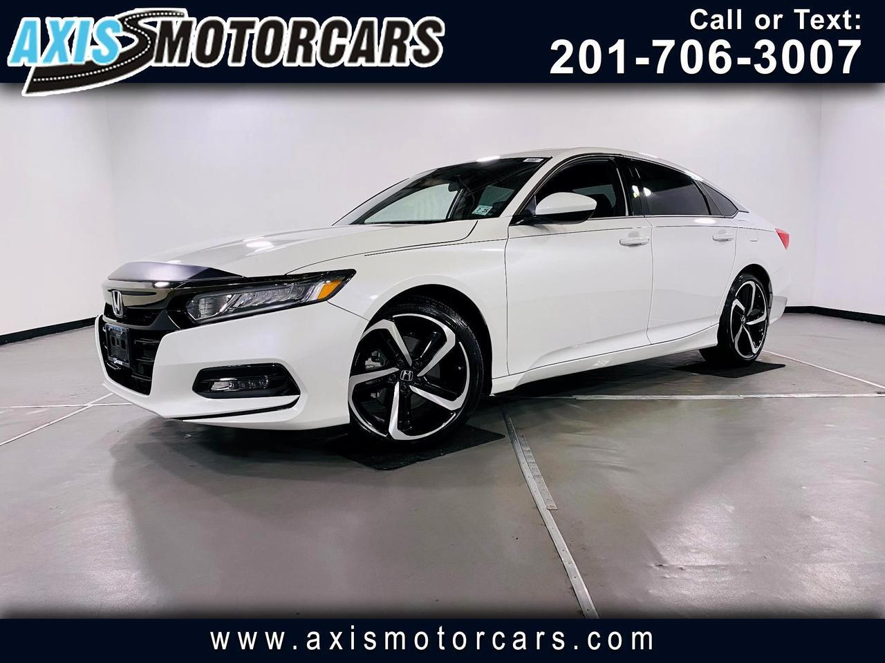 2020 Honda Accord Sport w/Backup Camera Sunroof
