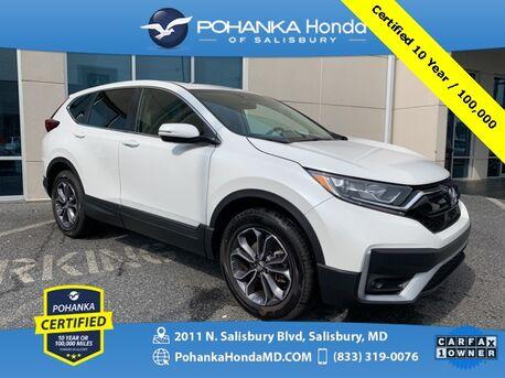 2020_Honda_CR-V_EX AWD ** Honda True Certified 7 Year / 100,000  **_ Salisbury MD