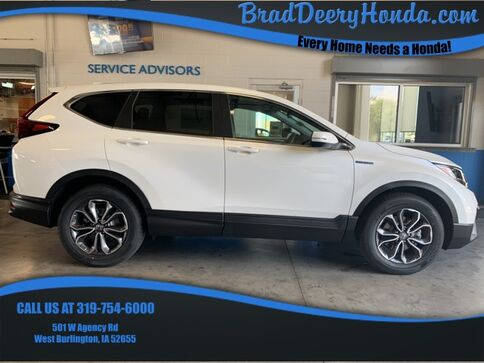 2020_Honda_CR-V Hybrid_EX_ West Burlington IA