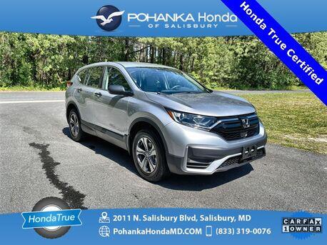 2020_Honda_CR-V_LX ** Honda Certified 7 Year / 100,000 **_ Salisbury MD