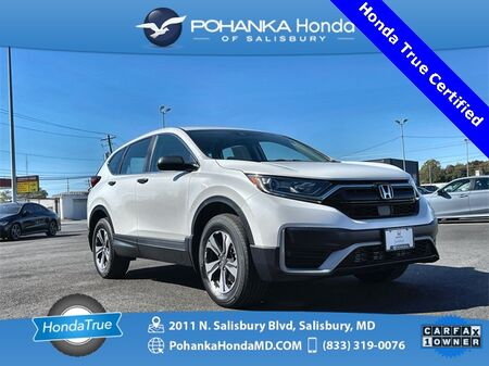 2020_Honda_CR-V_LX AWD ** Honda True Certified 7 Year / 100,000  **_ Salisbury MD