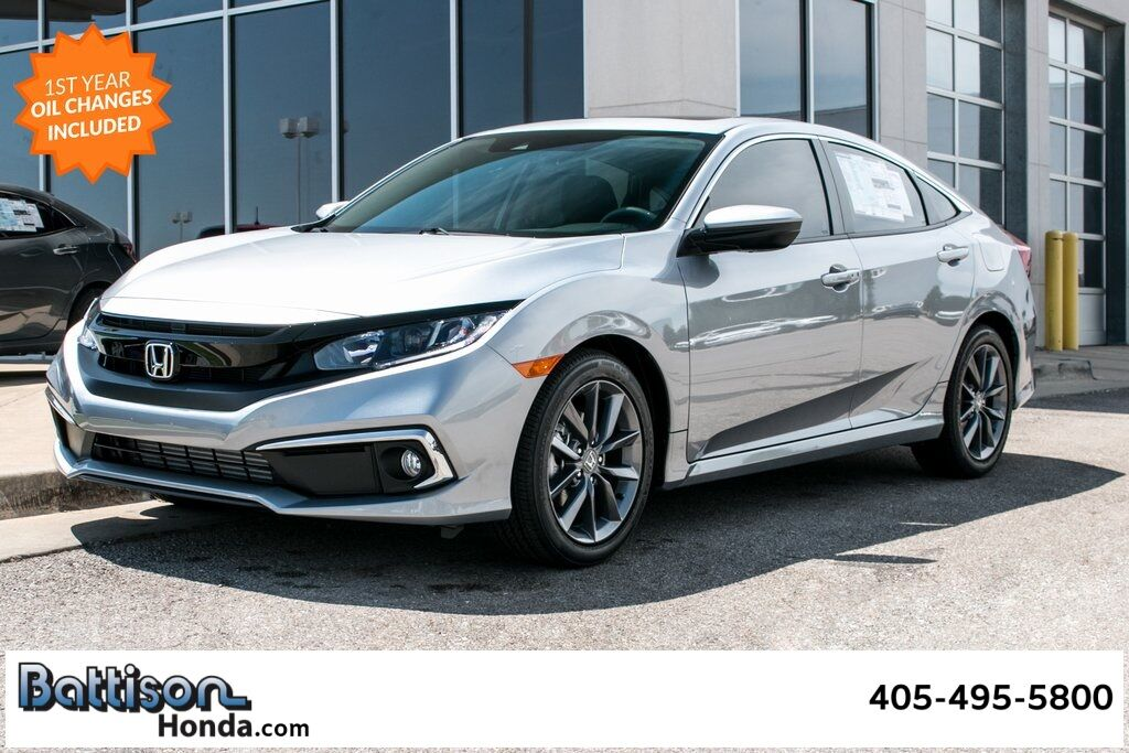 2020_Honda_Civic_EX-L_ Oklahoma City OK