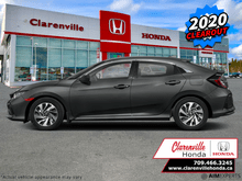2020_Honda_Civic Hatchback_LX CVT  - Heated Seats - $198 B/W_ Clarenville NL