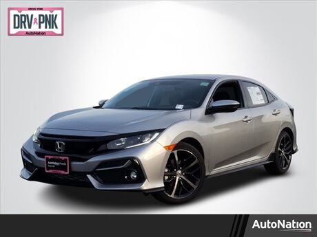 2020 Honda Civic Hatchback Sport Roseville CA