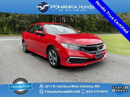 2020_Honda_Civic_LX ** Honda True Certified 7 Year / 100,000  **_ Salisbury MD