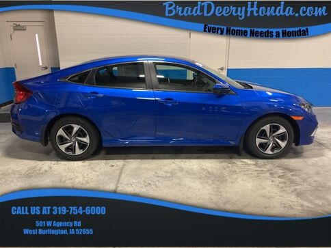 2020_Honda_Civic_LX_ West Burlington IA