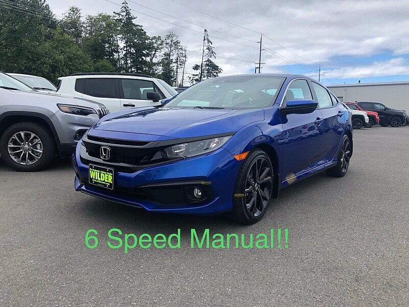 2020 Honda Civic Sedan 4d Sport 6spd Port Angeles WA
