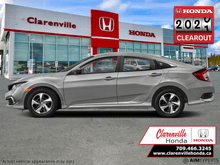 2020_Honda_Civic Sedan_LX CVT  - Heated Seats - $165 B/W_ Clarenville NL
