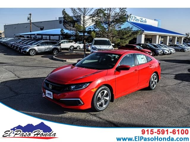 2020 Honda Civic Sedan LX CVT El Paso TX