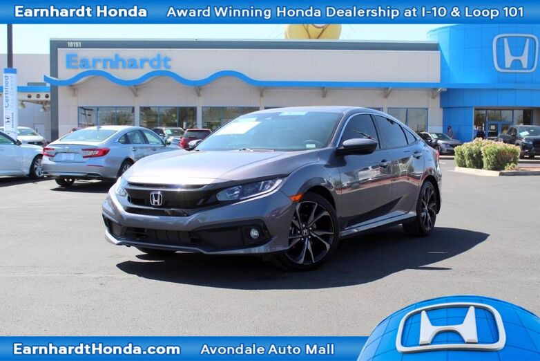 2020 Honda Civic Sedan Sport Avondale AZ