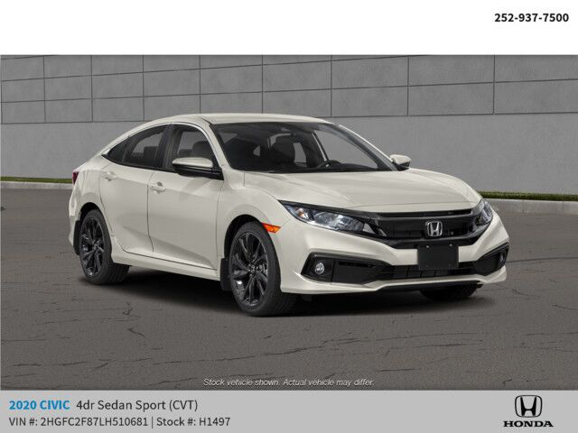 2020 Honda Civic Sedan Sport CVT Rocky Mount NC