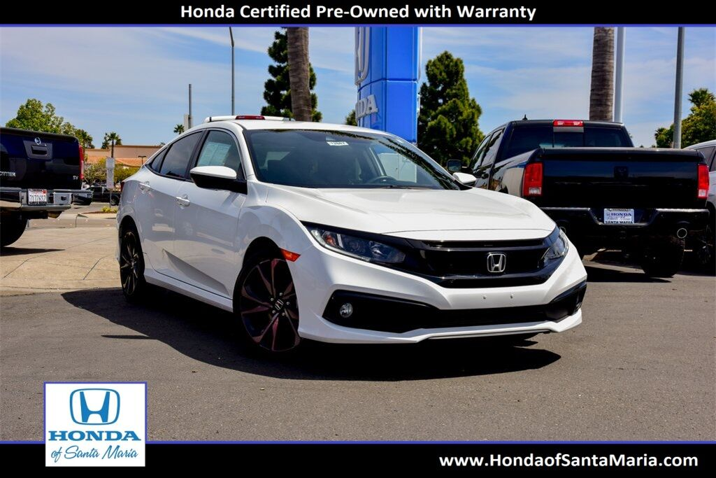 2020 Honda Civic Sedan Sport Santa Maria CA