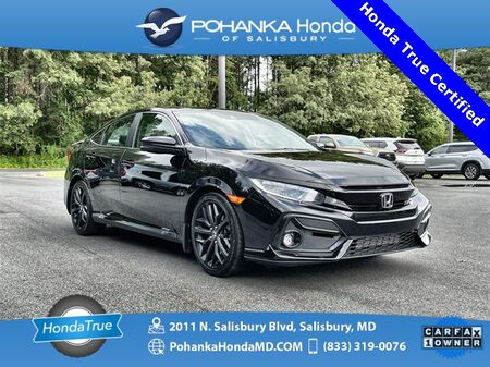 2020_Honda_Civic_Si ** Honda True Certified 7 Year / 100,000 **_ Salisbury MD