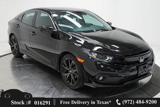 2020_Honda_Civic_Sport CAM,KEY-GO,18IN WHLS_ Plano TX