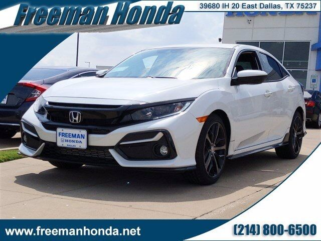 2020 Honda Civic Sport Dallas TX